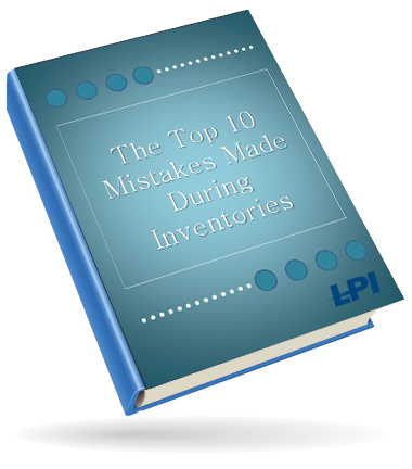 "Download our free ""The Top 10 Mistakes Made During Inventories"" eBook"